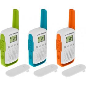 Motorola TALKABOUT T42 ricetrasmittente 16 canali Blu, Verde, Arancione, Bianco
