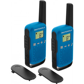 Motorola TALKABOUT T42 ricetrasmittente 16 canali Nero, Blu