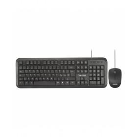 Vultech KM-820 tastiera USB QWERTY Italiano Nero