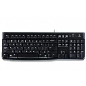 Logitech K120 tastiera USB QWERTY Spagnolo Nero