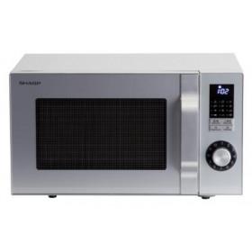 Sharp Home Appliances R644S forno a microonde Superficie piana Microonde combinato 23 L 900 W Argento