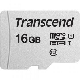 Transcend microSDHC 300S 16GB memoria flash Classe 10 NAND