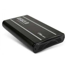 Hamlet USB 3.0 Storage Station box esterno per hard disk SATA 3,5'' con capacità fino a 3 TB
