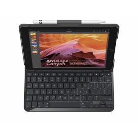 Logitech Slim Folio tastiera per dispositivo mobile Nero QWERTY Italiano Bluetooth