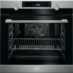AEG BPK 537221 M forno Forno elettrico 72 L Nero, Acciaio inossidabile A+