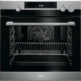 AEG BSK 575221 M forno Forno elettrico 72 L Nero, Acciaio inossidabile A+