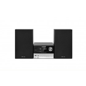 Grundig CMS 2000 BT Microsistema audio per la casa Nero, Argento 30 W