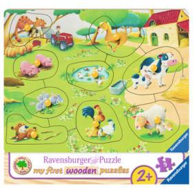 Ravensburger Kleiner Bauernhof Puzzle da pavimento 9 pezzo(i)