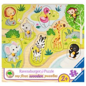 Ravensburger 00.003.687 puzzle Puzzle con formine 8 pezzo(i)