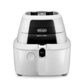 DeLonghi IdealFry Hot air fryer Singolo Nero, Bianco Indipendente 1400 W