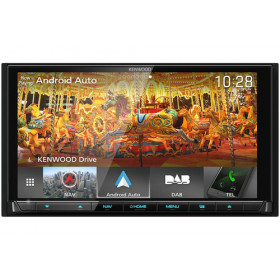 "Kenwood Electronics DNX9180DABS Fisso 6.8"" LED Touch screen 2500g Nero navigatore"