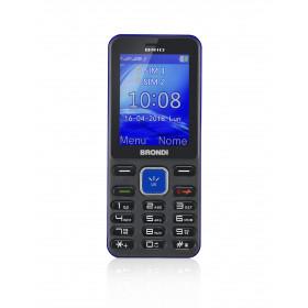 """Brondi brio 6,1 cm (2.4"""") 69 g Nero, Blu Telefono di livello base"""
