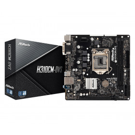 Asrock H310CM-DVS LGA 1151 (Presa H4) micro ATX Intel® H310