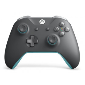 Microsoft WL3-00106 periferica di gioco Gamepad PC, Xbox One Blu, Grigio