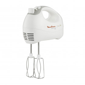 Moulinex HM410 Prep'Line Sbattitore prepline 5 velocità 450w Pentole Cucina, 450 W, Bianco