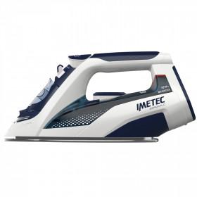 Imetec ZeroCalc Z3 3500 Ferro da stiro a secco e a vapore Acciaio inossidabile Blu, Bianco 2400 W