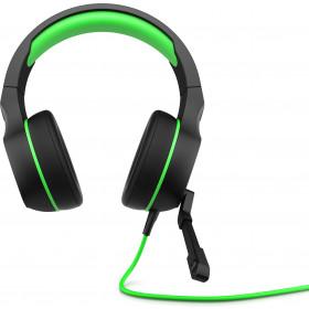 HP Pavilion Gaming 400 headset Stereofonico Padiglione auricolare Nero, Verde