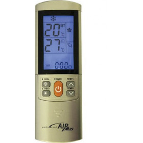 G.B.S. Elettronica Universal Air Plus telecomando IR Wireless Oro Pulsanti