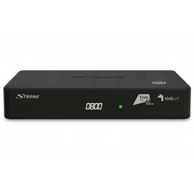 Strong SRT 7840 set-top box TV Satellite Full HD Nero