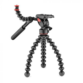 Joby GorillaPod 3K Video PRO treppiede Fotocamere digitali/film 3 gamba/gambe Nero, Rosso