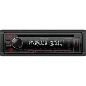Kenwood KDC-130UR Ricevitore multimediale per auto Nero 200 W