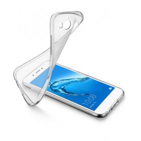 Cellularline Soft - Y5 2017 Protegge e valorizza il design dello smartphone Trasparente