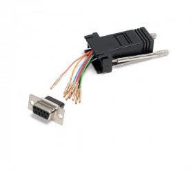 StarTech.com Adattatore Modulare seriale DB9 a RJ45 - F/F