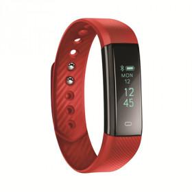 """ACME ACT101R Armband activity tracker Rosso OLED 2,18 cm (0.86"""") Senza fili"""