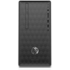 HP Pavilion 590-p0013nl 3,5 GHz AMD Ryzen 3 2200G Grigio, Argento Mini Tower PC