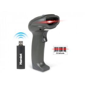 Hamlet HBCS1D10W lettore di codici a barre 1D Laser Nero Handheld bar code reader