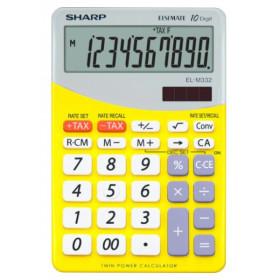 Sharp EL-M332 calcolatrice Scrivania Calcolatrice finanziaria Giallo