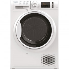 Hotpoint NT M11 91WK IT asciugatrice Libera installazione Caricamento frontale Bianco 9 kg A+