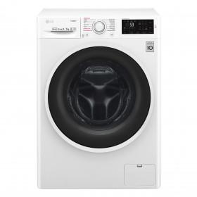 LG F4J6VG0W lavasciuga Caricamento frontale Libera installazione Bianco A