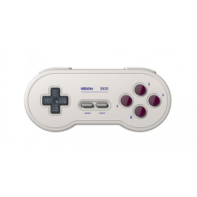 8Bitdo SN30 GP Gamepad Android,Nintendo Switch,PC Digitale Bluetooth/USB Grigio