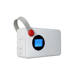 Akai AKBT60BI radio Portatile Analogico e digitale Bianco