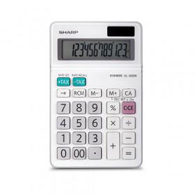 Sharp EL320WB calcolatrice Scrivania Calcolatrice di base Bianco