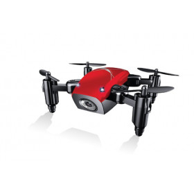 GOCLEVER Sky Beetle FPV drone fotocamera Octocopter Nero, Rosso 4 rotori