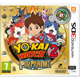 3DS YOKAI WATCH 2 POLPANIME