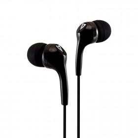 V7 HA105-3EB auricolare per telefono cellulare Stereofonico Nero