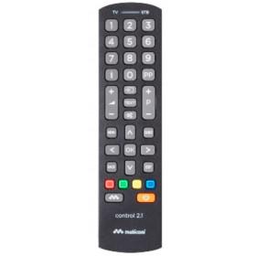 Meliconi Control 2.1 telecomando IR Wireless Nero Pulsanti