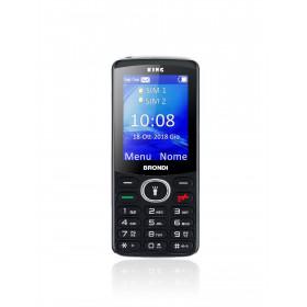 """Brondi King 6,1 cm (2.4"""") Nero Caratteristica del telefono"""