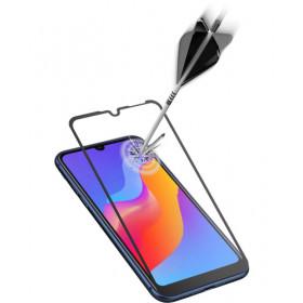 Cellularline Second Glass Capsule - Y6 (2019) Vetro temperato resistente con cornice Trasparente.Nero.