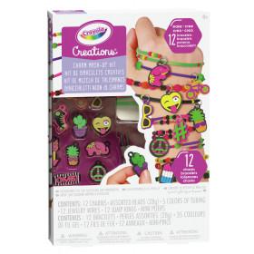 Crayola 04-0468 kit per fare gioielli per bambini
