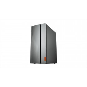 Lenovo IdeaCentre 720 AMD Ryzen 5 2400G 8 GB DDR4-SDRAM 1000 GB HDD Nero, Argento Torre PC
