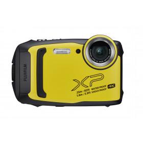 """Fujifilm FinePix XP140 Fotocamera compatta 16,4 MP CMOS 4608 x 3456 Pixel 1/2.3"""" Nero, Giallo"""