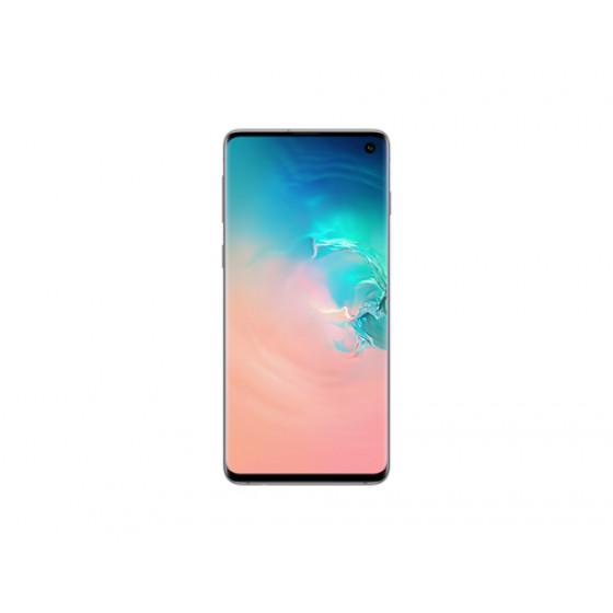 """Samsung Galaxy S10 SM-G973F/DS 15,5 cm (6.1"""") 8 GB 128 GB Dual SIM ibrida 4G White 3400 mAh"""