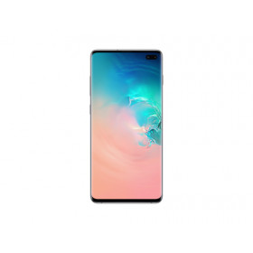 "Samsung Galaxy S10+ SM-G975F/DS 16,3 cm (6.4"") 8 GB 128 GB Dual SIM ibrida 4G Bianco 4100 mAh"