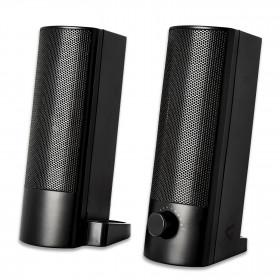 V7 SB2526-USB-6E altoparlante soundbar Nero
