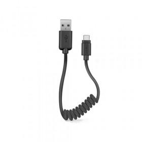 SBS TECABLETYPCSK cavo USB 0,5 m USB A USB C Nero