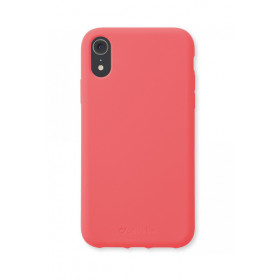 Cellularline Sensation - iPhone XR Custodia in silicone soft touch Arancione